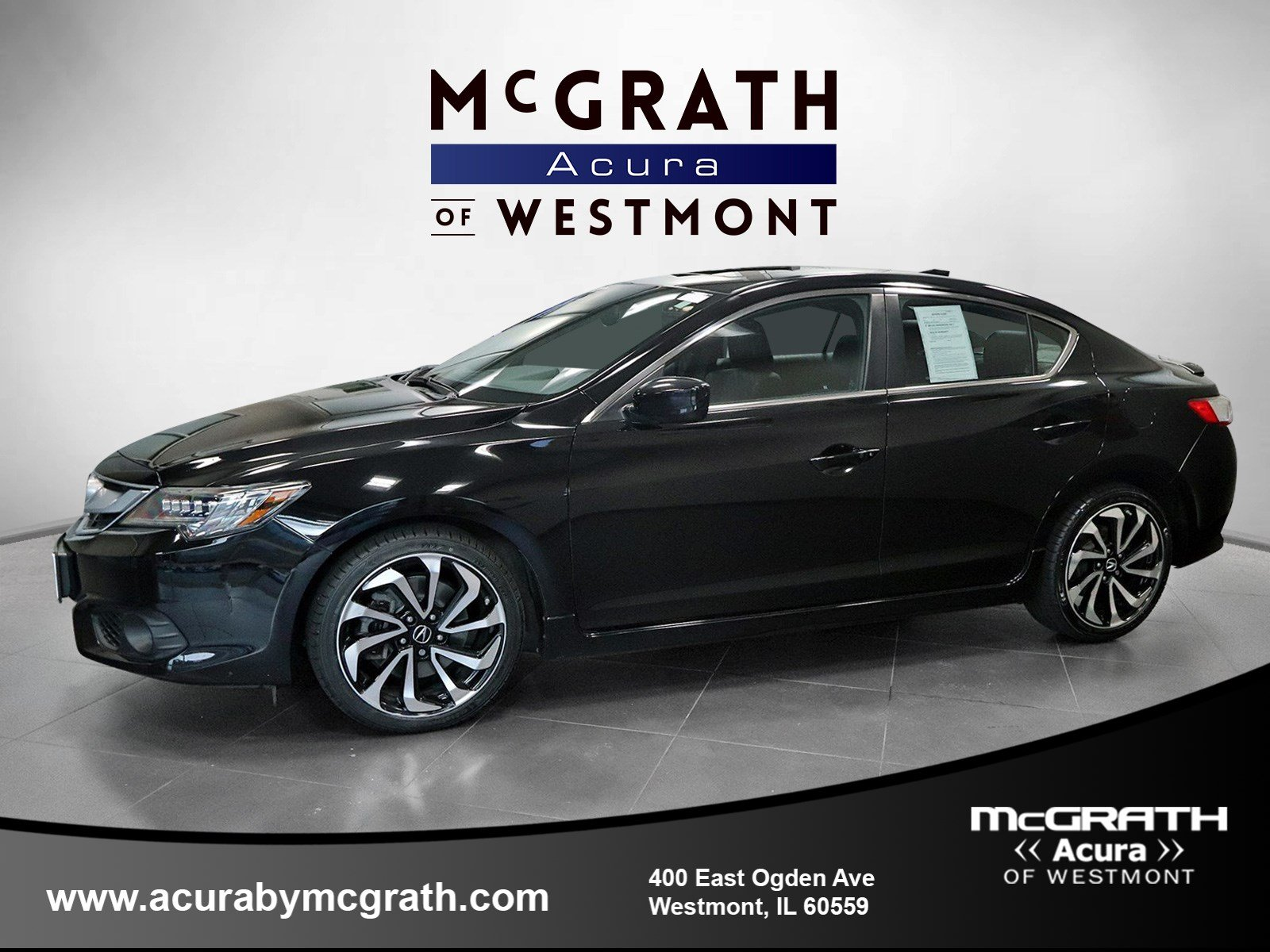 Certified Pre-Owned 2017 Acura ILX w/Premium/A-SPEC Pkg