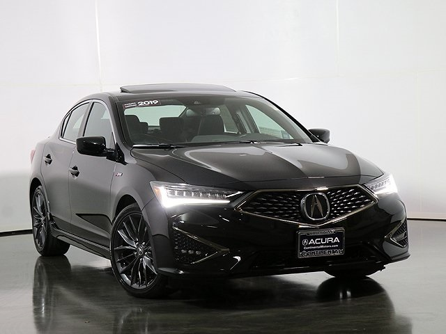 Certified Pre-Owned 2019 Acura ILX Premium and A-SPEC Packages
