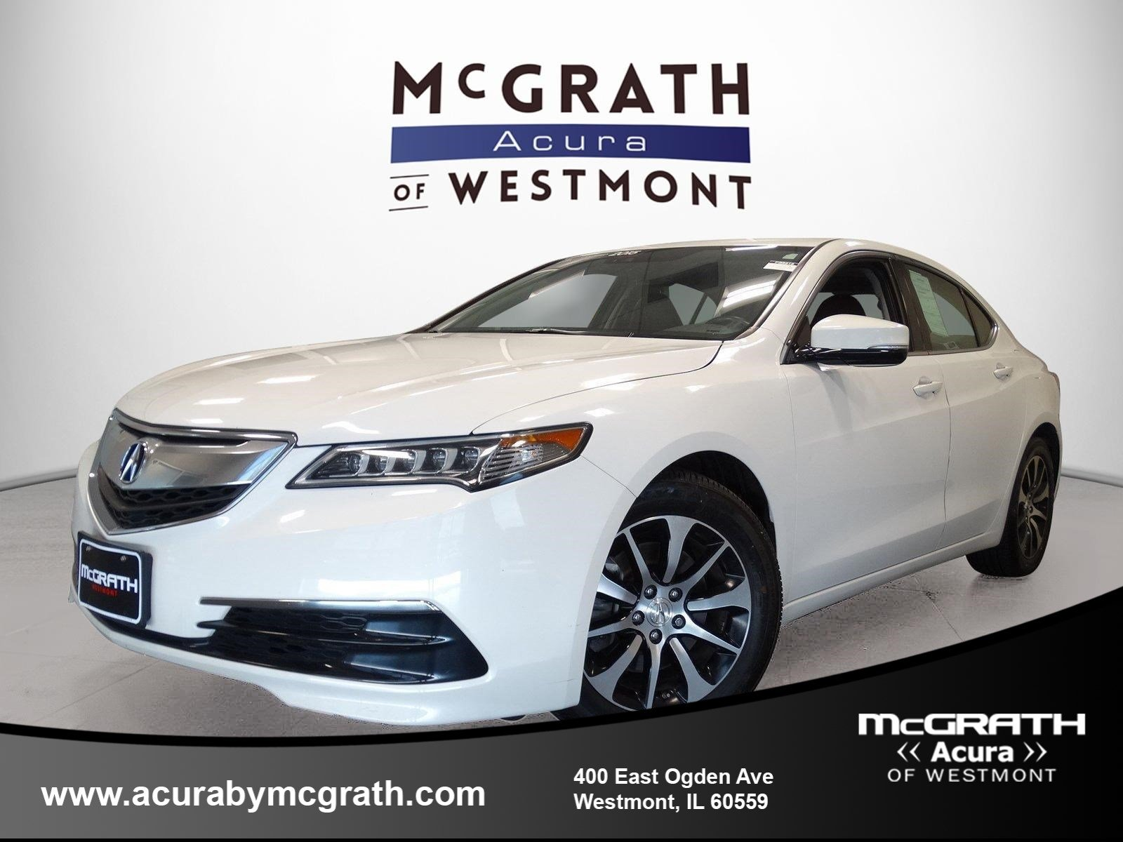 2015 Acura TLX Tech FWD 4dr Car Chicagoland Acura Dealers Association