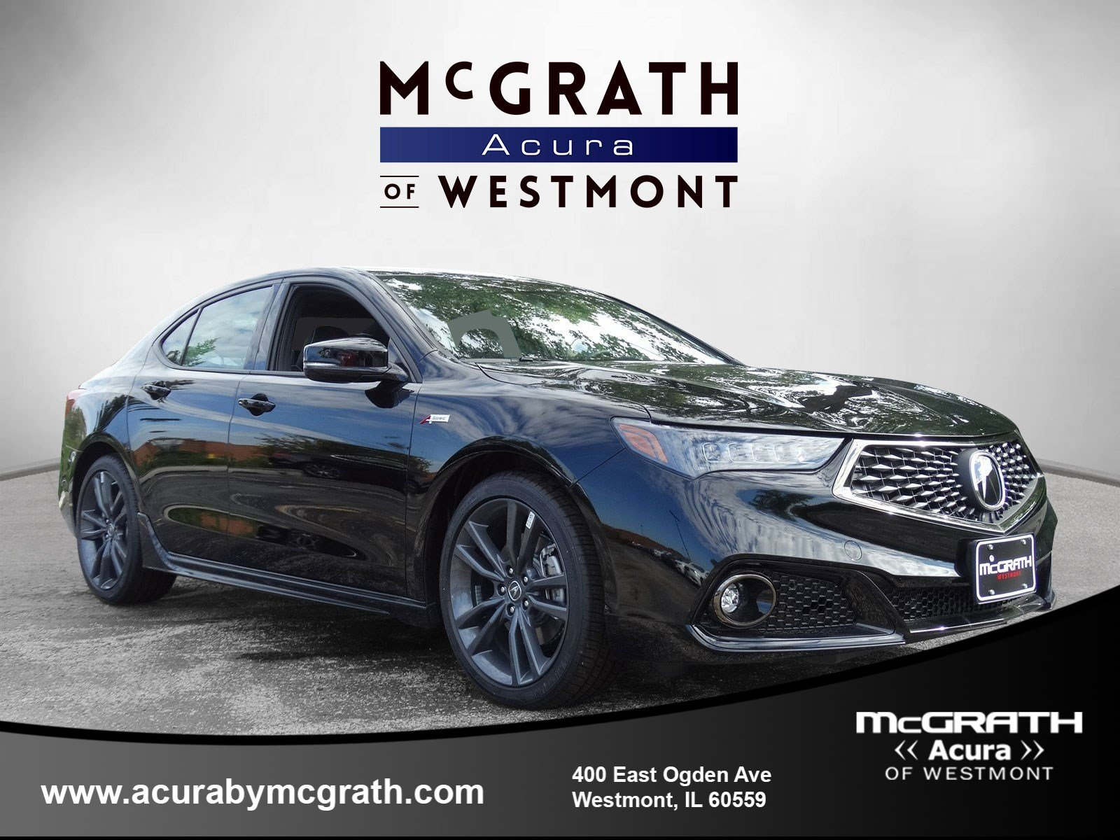 Certified Pre-Owned 2019 Acura TLX w/A-Spec Pkg
