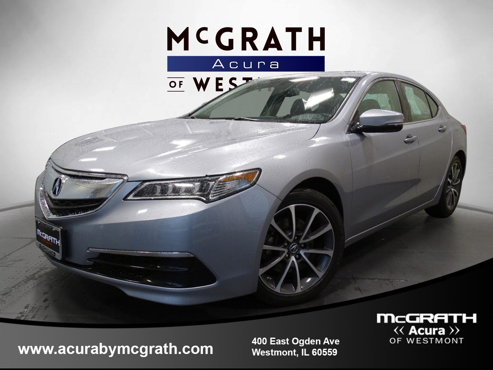 2015 Acura TLX V6 FWD 4dr Car Chicagoland Acura Dealers Association
