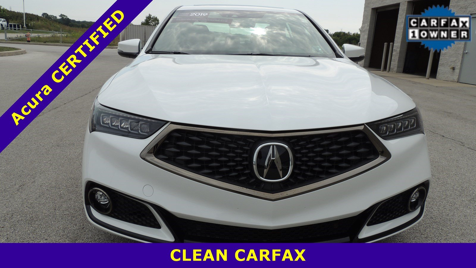 Certified Pre-Owned 2019 Acura TLX FWD w/A-SPEC Pkg