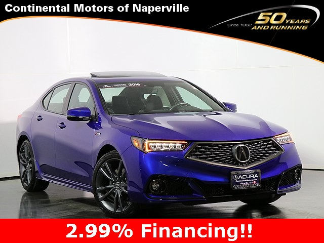 Certified Pre-Owned 2019 Acura TLX 3.5L