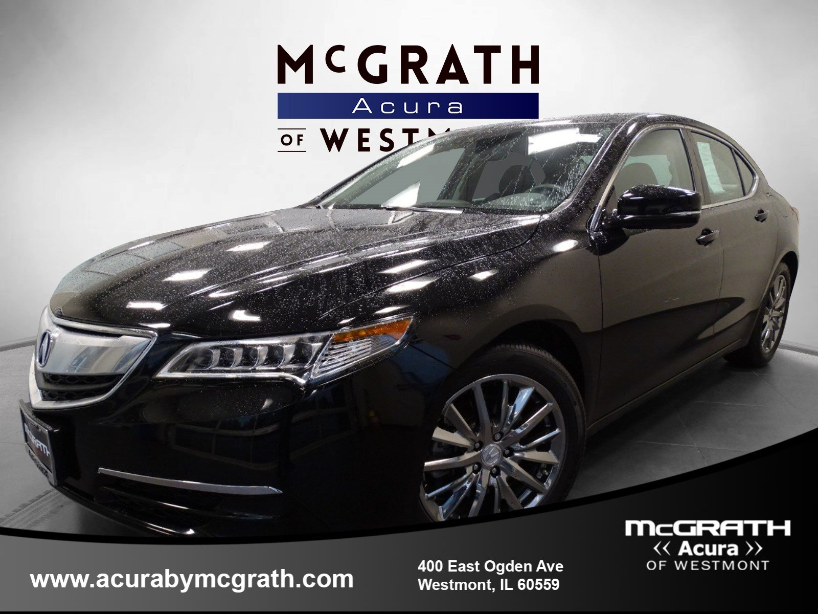 2015 Acura TLX V6 Tech AWD 4dr Car Chicagoland Acura Dealers