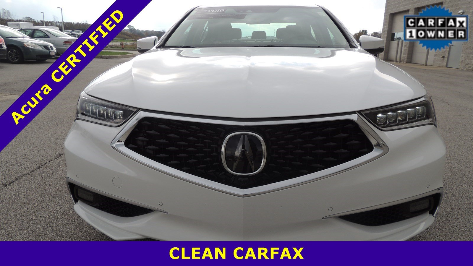 Certified Pre-Owned 2019 Acura TLX 3.5L SH-AWD w/Advance Pkg