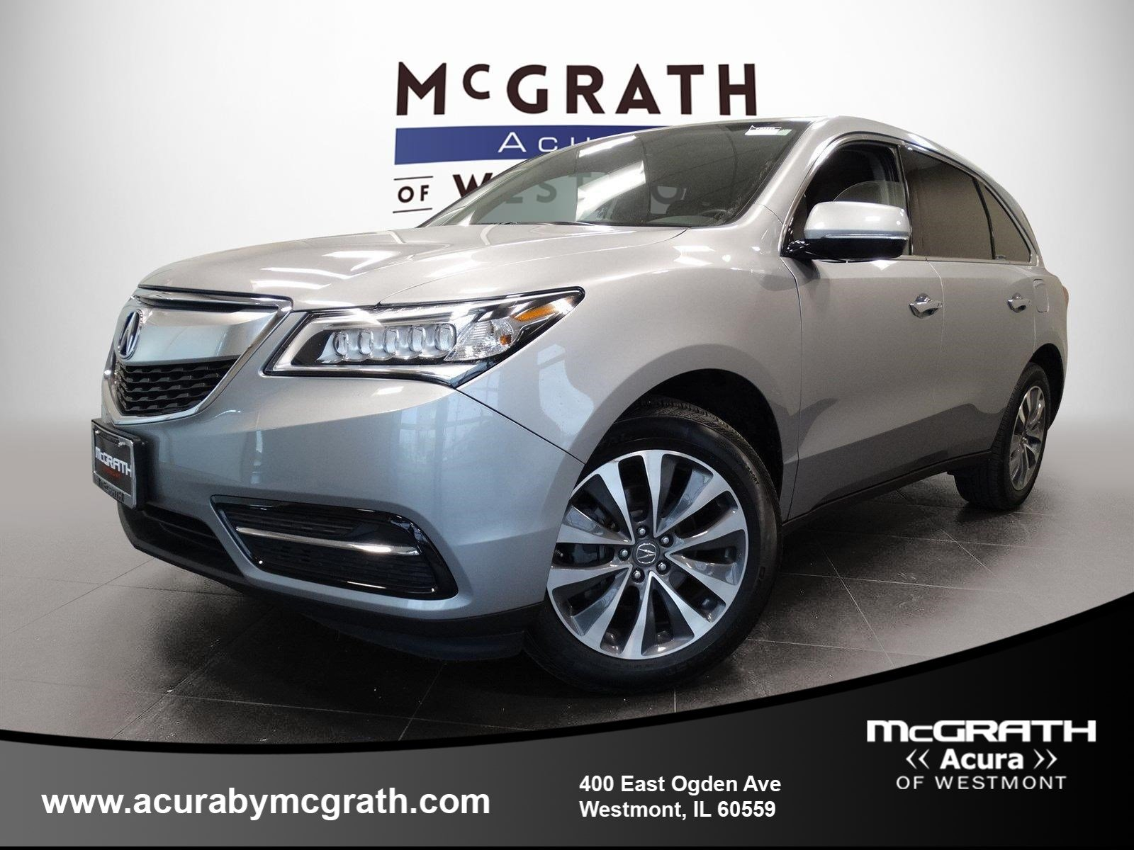 2016 Acura MDX w Tech All Wheel Drive Sport Utility Chicagoland