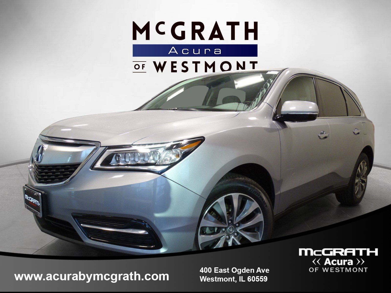 Certified Pre Owned 2016 Acura Mdx W Tech