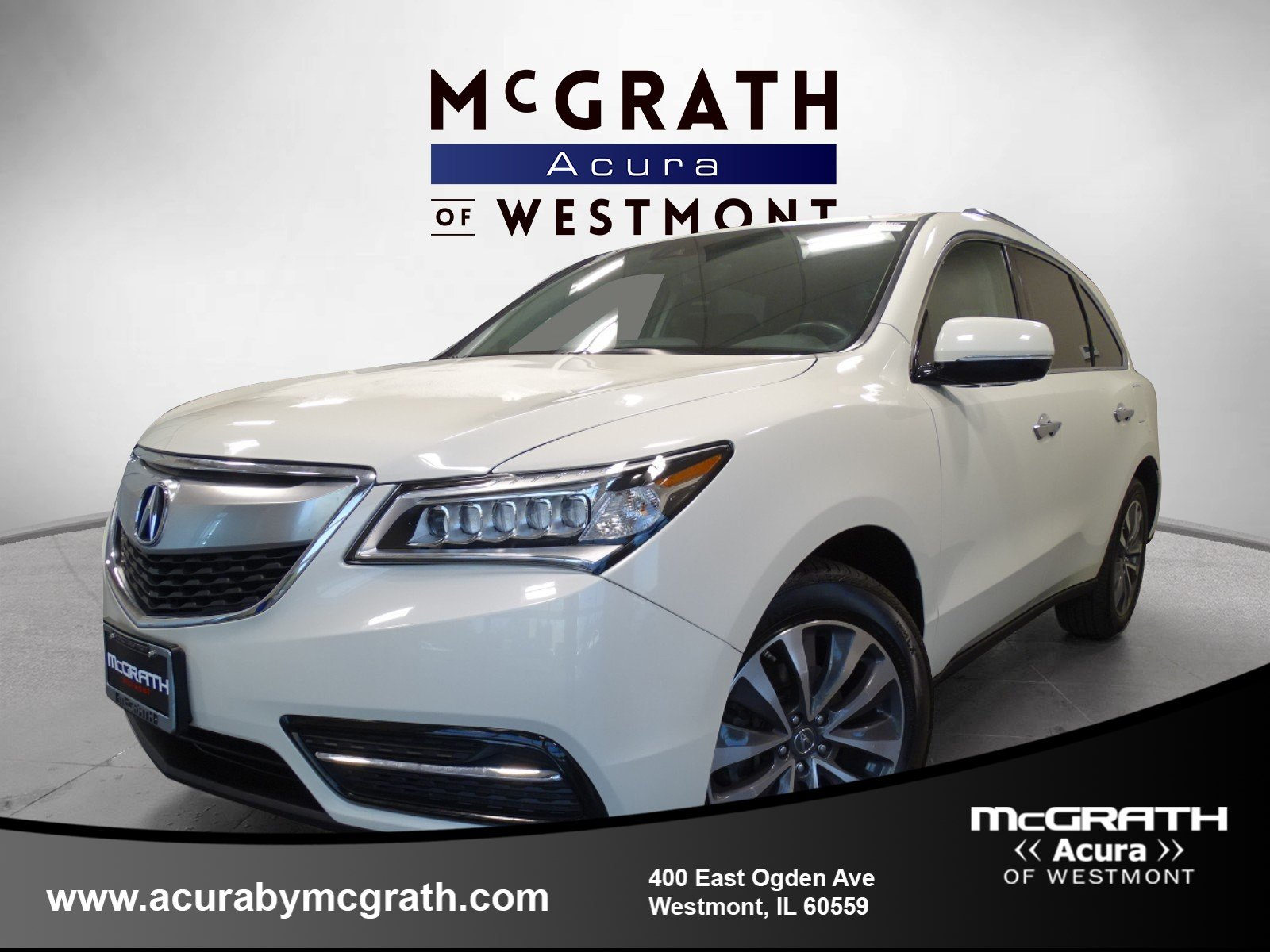 2016 Acura MDX w Tech Entertainment All Wheel Drive Sport Utility