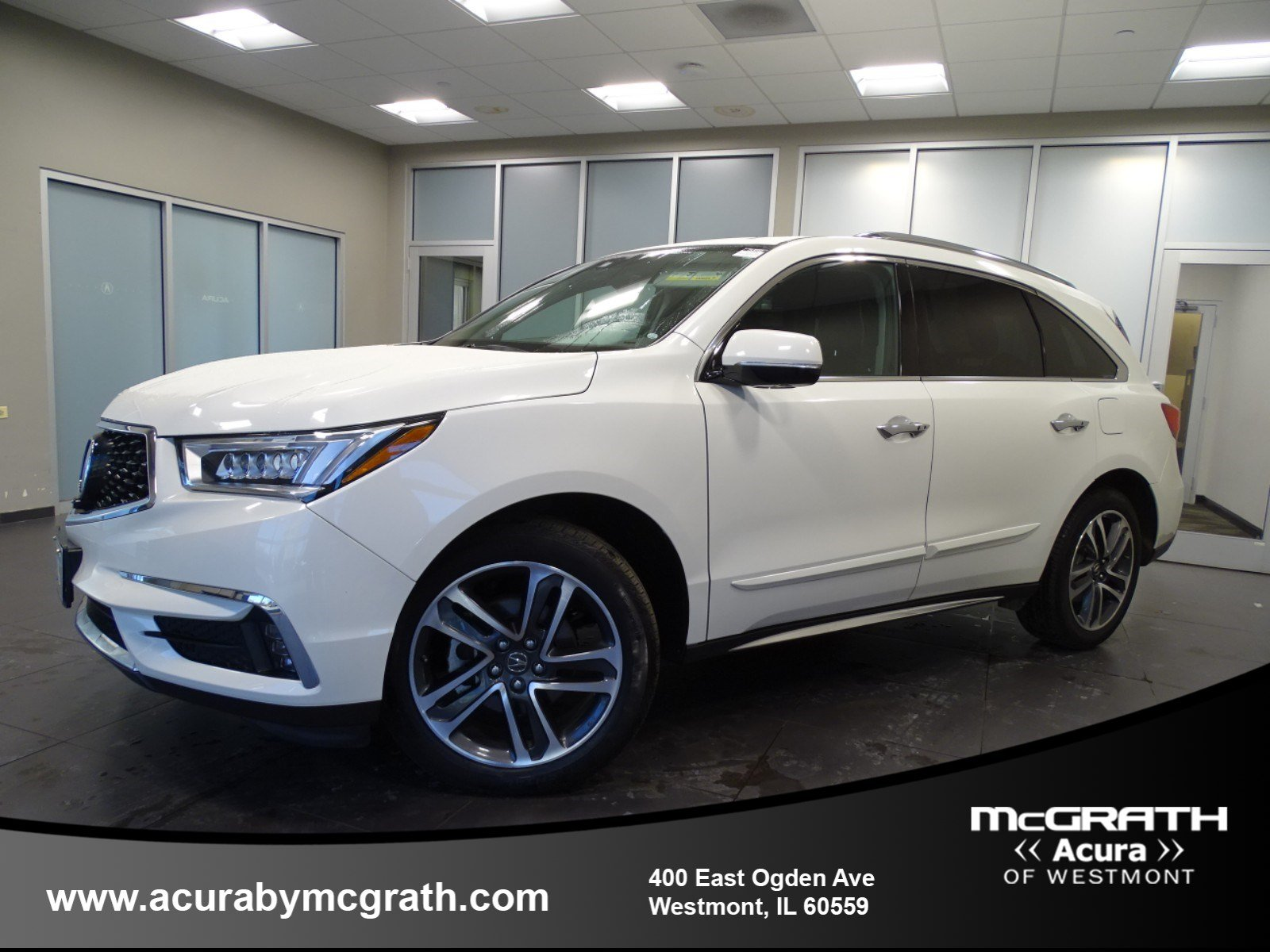 Certified Pre Owned 2017 Acura Mdx W Advance Pkg