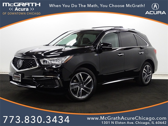 Certified Pre-Owned 2017 Acura MDX Sport Hybrid 3.0L