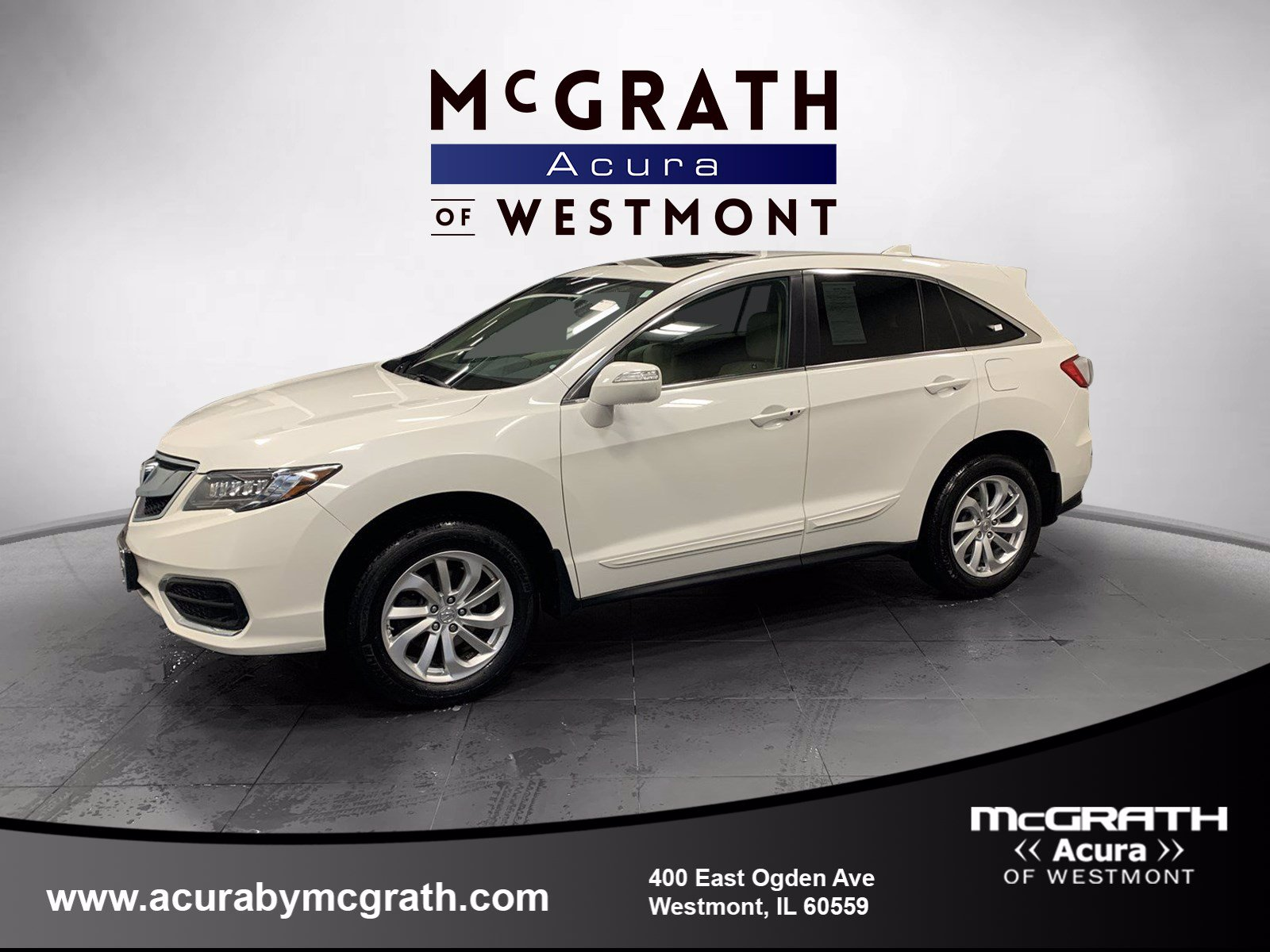 Certified Pre-Owned 2018 Acura RDX w/AcuraWatch Plus
