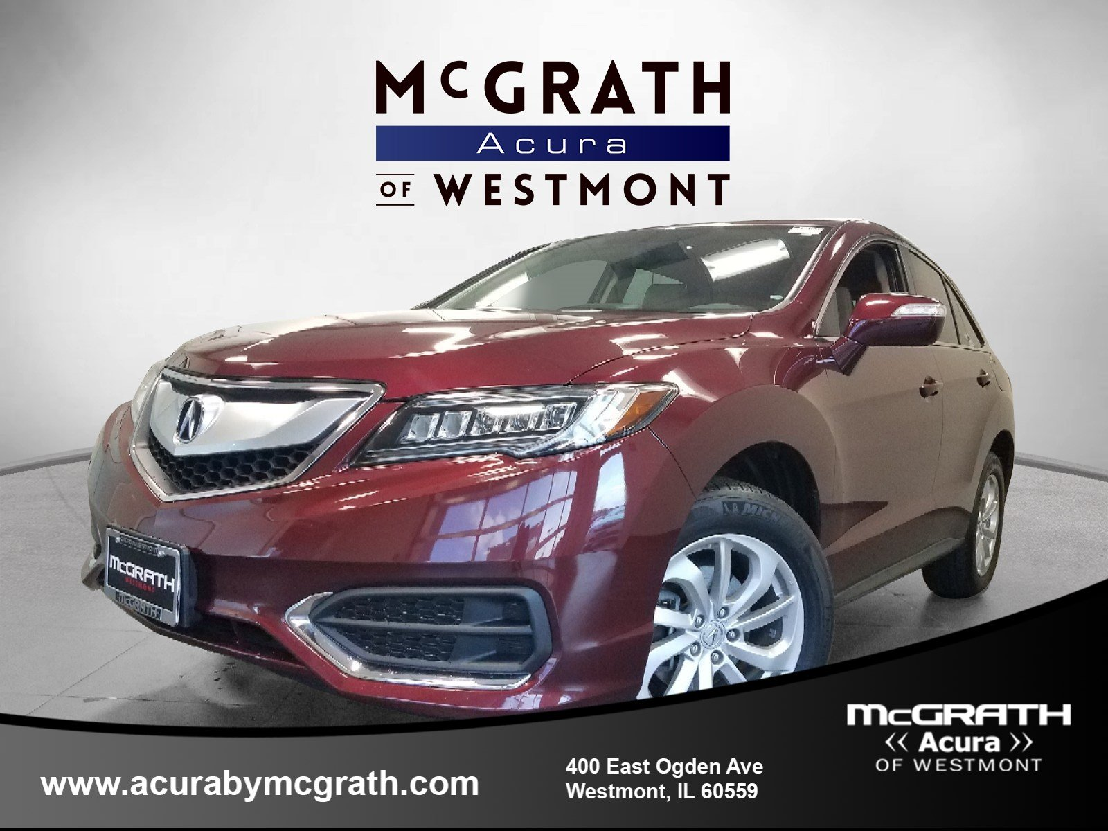 2016 Acura RDX Tech Pkg All Wheel Drive Sport Utility Chicagoland