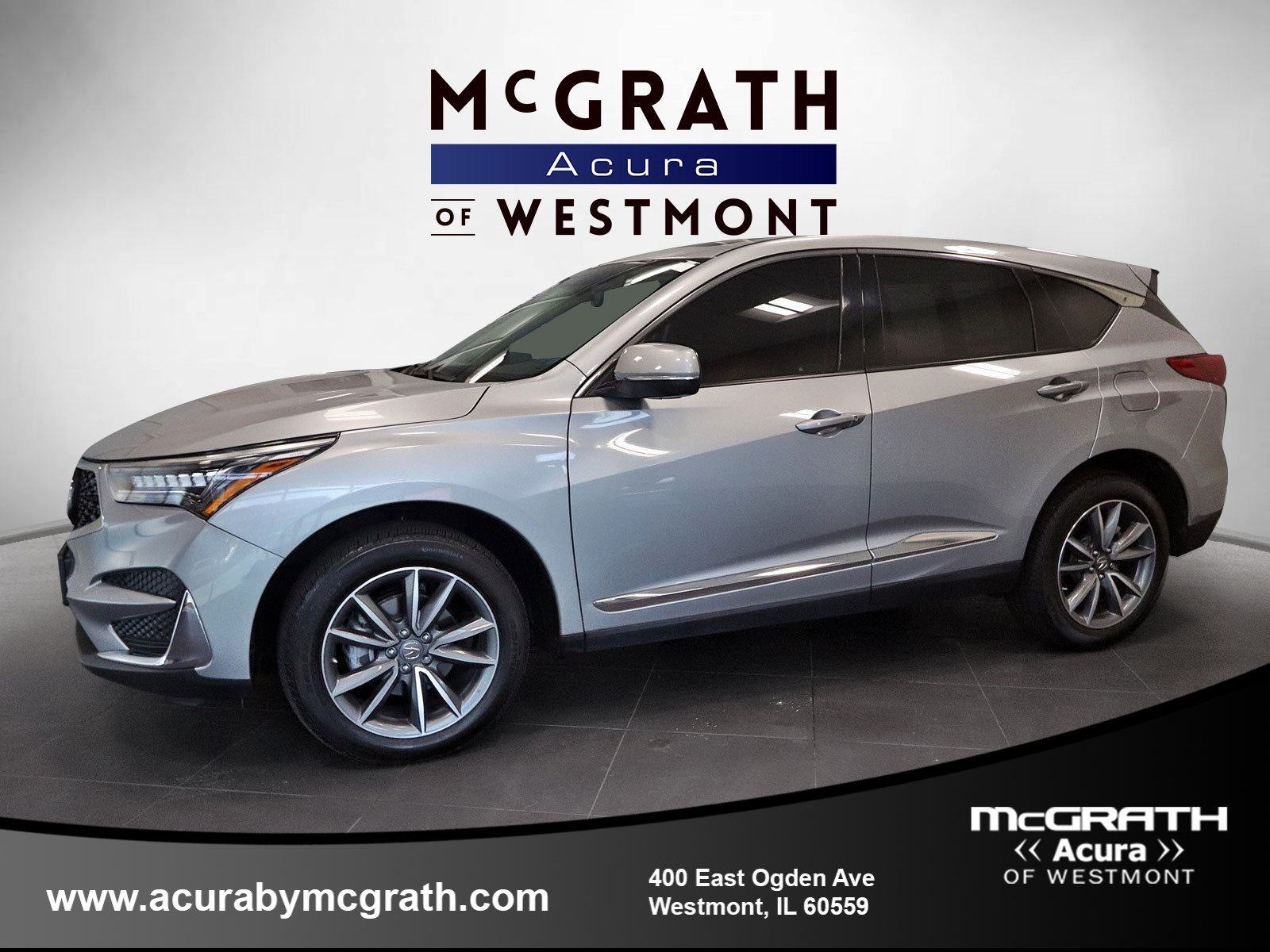 Certified Pre-Owned 2019 Acura RDX w/Technology Pkg