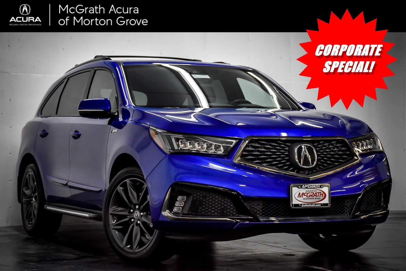 Certified Pre-Owned 2020 Acura MDX w/Technology/A-Spec Pkg
