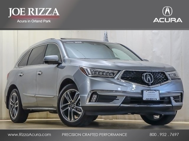 Certified Pre-Owned 2018 Acura MDX 3.5L SH-AWD w/Advance Package