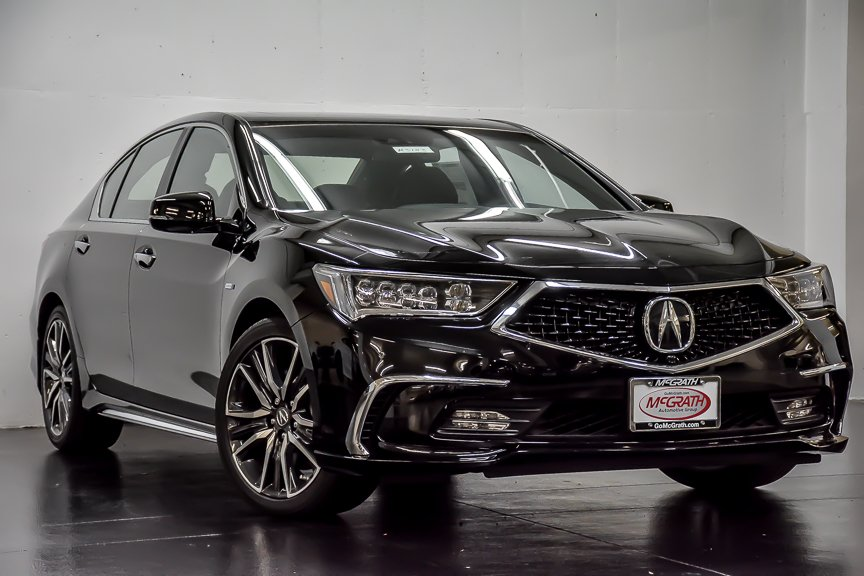 Certified Pre-Owned 2018 Acura RLX Sport Hybrid w/Advance Pkg