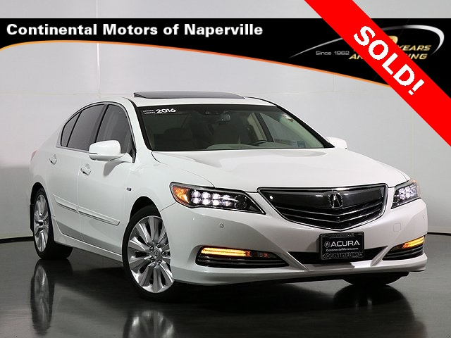 Certified Pre-Owned 2016 Acura RLX Sport Hybrid Base