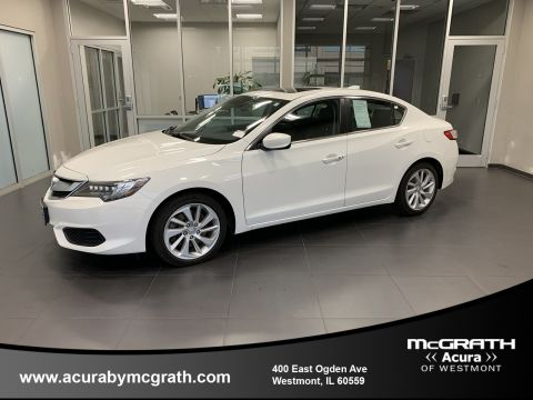 Certified Pre-Owned 2017 Acura ILX w/Premium Pkg