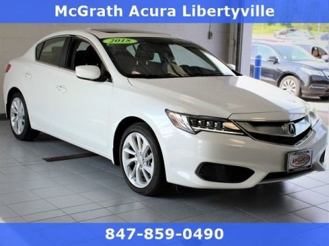Certified Pre-Owned 2018 Acura ILX Technology Package