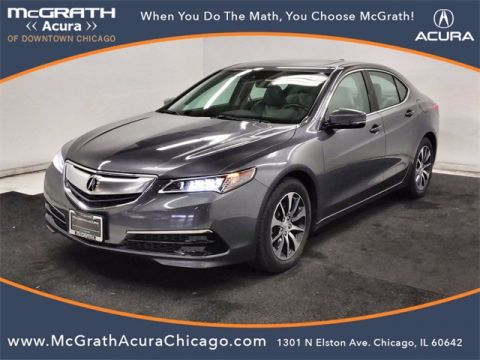 Certified Pre-Owned 2017 Acura TLX 2.4L