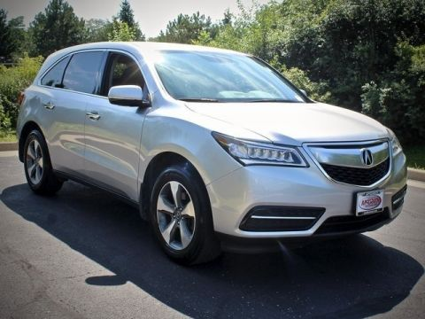 Certified Pre-Owned 2015 Acura MDX 3.5L