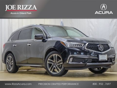 Certified Pre-Owned 2017 Acura MDX 3.5L SH-AWD w/Advance & Entertainment Pkgs