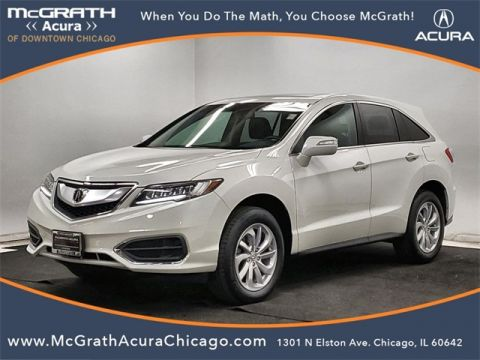 Certified Pre-Owned 2017 Acura RDX AcuraWatch Plus Package