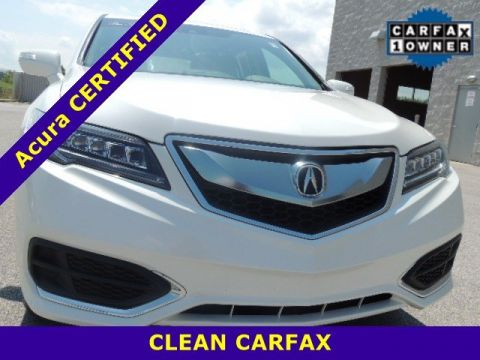 Certified Pre-Owned 2016 Acura RDX Tech/AcuraWatch Plus Pkg