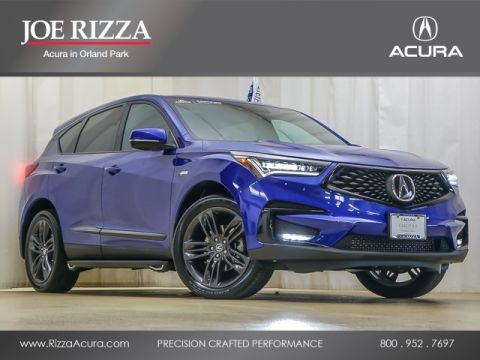 Certified Pre-Owned 2019 Acura RDX A-Spec Package SH-AWD