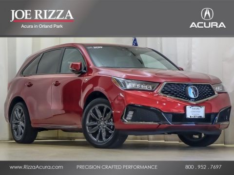 Certified Pre-Owned 2019 Acura MDX 3.5L Technology Pkg w/A-Spec Pkg SH-AWD